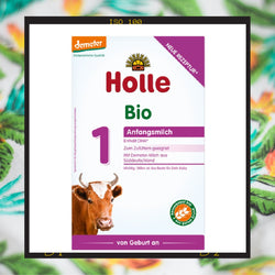 Holle Bio Stage 1 organic infant milk formula from birth onwards