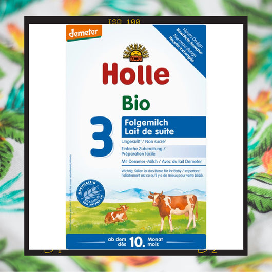 Holle Bio Stage 3 follow on formula from ten months