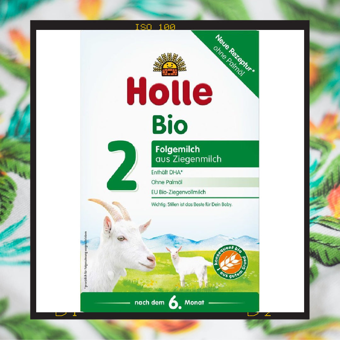 Holle Goat Stage 2 Organic (Bio) Follow-on Infant Milk Formula (400g)