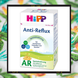 HiPP Anti-Reflux infant formula reduces spit up and symptoms associated with acid reflux