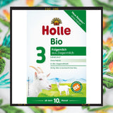 Holle Bio goat milk 3 from ten months onwards