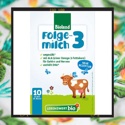 Lebenswert stage 3 organic follow on milk formula from 10 months