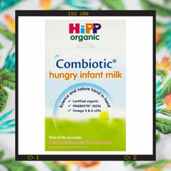 HiPP hungry infant milk casein based formula satisfies even the hungriest baby