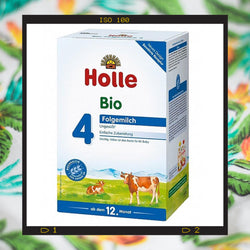 Holle Bio Stage 4 growing up formula from 12 months to 2 years of age
