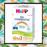 HiPP HA 1 is a hypoallergenic formula is a hypoallergenic formula made for babies with milk protein allergies