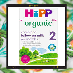 HiPP Stage 2 Combiotic Follow-on Infant Milk Formula (800g)- UK Version