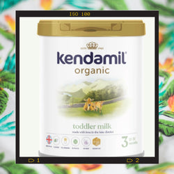 Kendamil Organic toddler milk for ages 12 months-3 years of age.