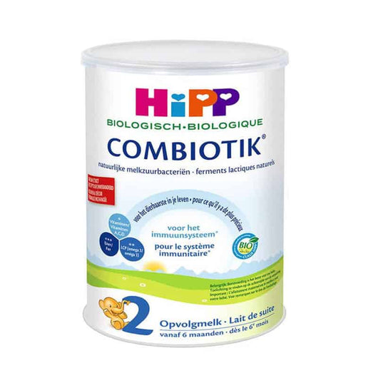 Stage 2 Organic (Bio) Combiotic Follow-on Milk Formula (800g) - Dutch Version