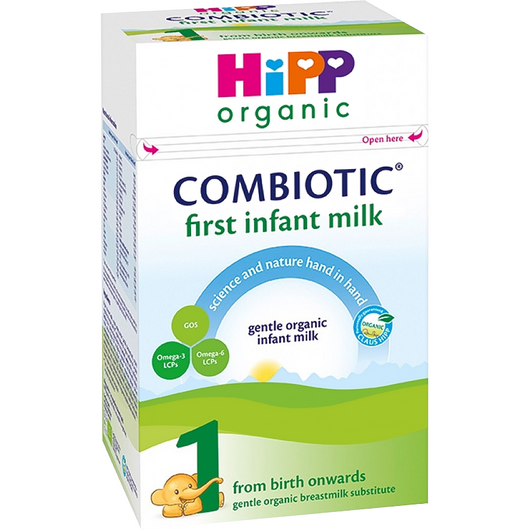 4-Pack HiPP Stage 1 Combiotic First Infant Milk Formula (800g)- UK Version