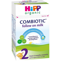 4 Boxes of HiPP Stage 2 Combiotic First Infant Milk Formula (800g)- UK Version