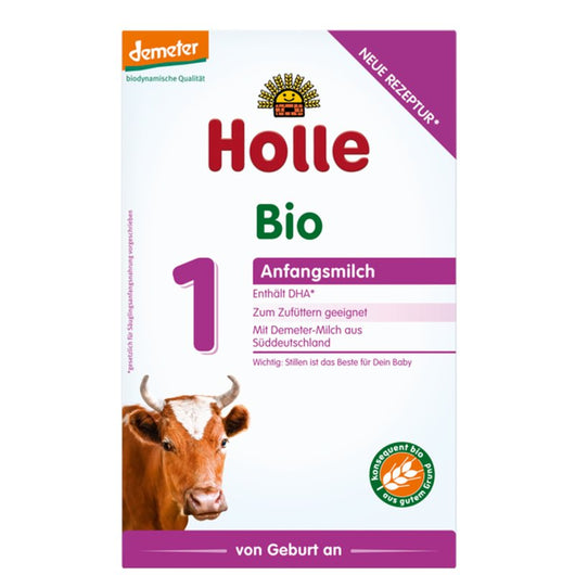 10-Pack Holle Stage 1 Organic (Bio) Infant Milk Formula (400g)