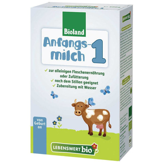 3-Pack Lebenswert Stage 1 Organic (Bio) Infant Milk Formula (500g)