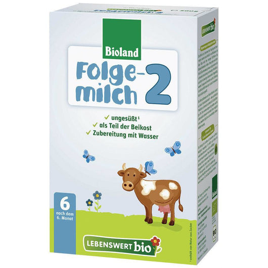 5 Pack of Lebenswert Stage 2 Organic (Bio) Follow-on Infant Milk Formula (500g)