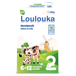Loulouka Stage 2 Organic (Bio) Follow-on Infant Milk Formula (800g)