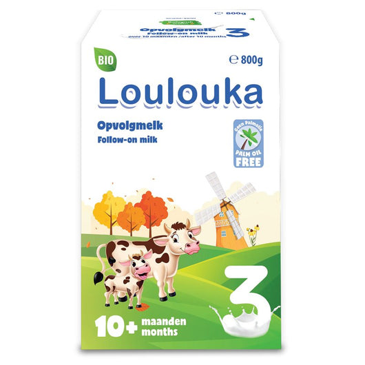 Loulouka Bio Follow-On Milk 3 800g