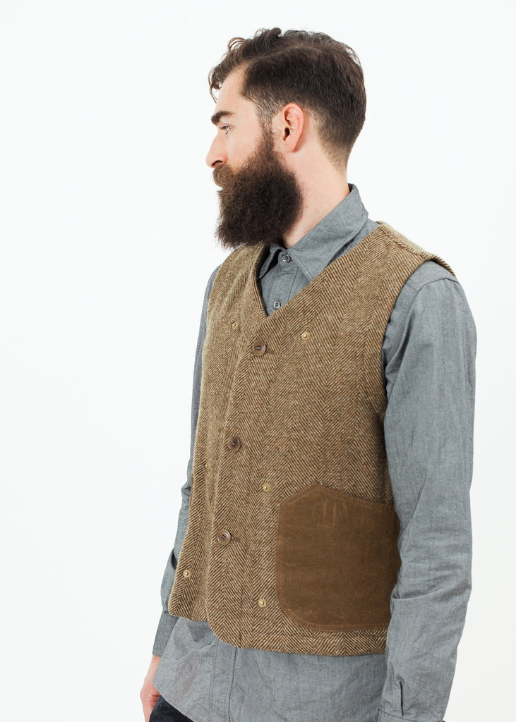 Work Vest in Tan