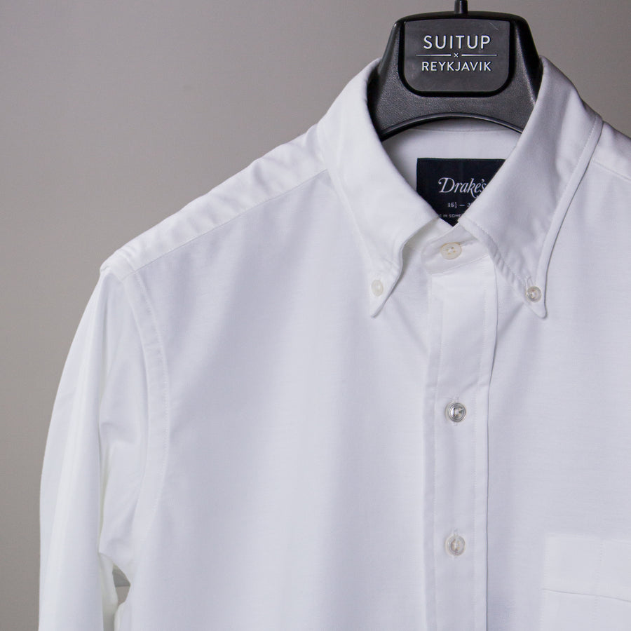 White Oxford BD Shirt