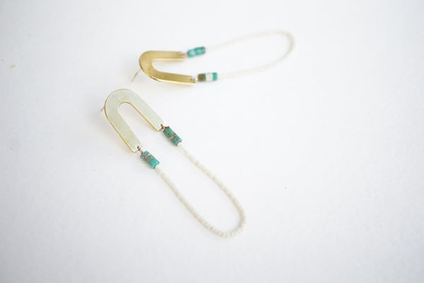 Handa Moonbow Earrings - Hawaii Made Jewelry