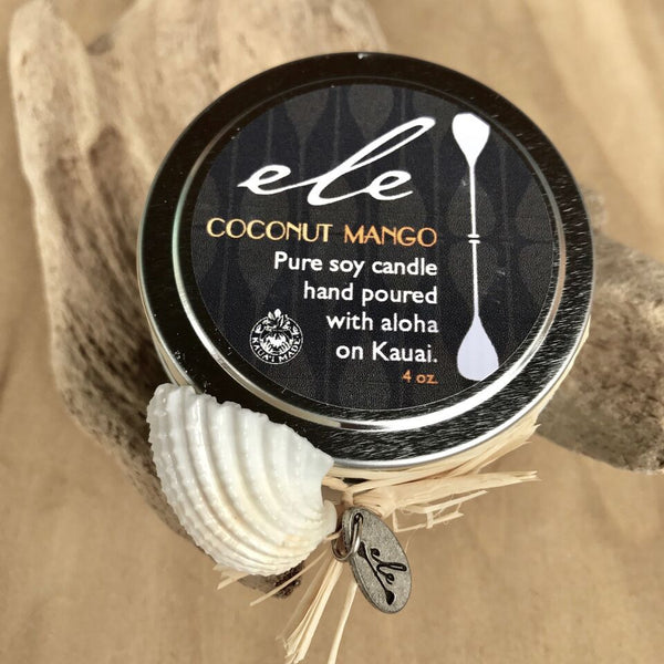 Coconut Mango Candle - Hawaii Made