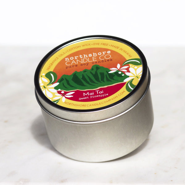 Sweet Pineapple Candle - Hawaii Made
