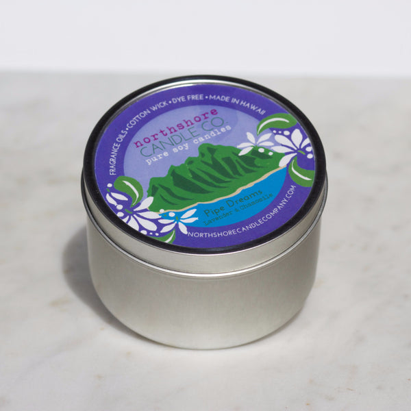Lavender and Chamomile Candle - Hawaii Made