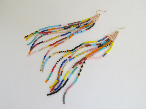 Rainbow Shanga Earrings - Hawaii Made
