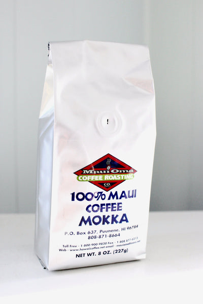 100% Pure Maui Mokka Coffee - Hawaii Made
