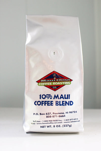 10% Maui Blend Coffee - Hawaii Made