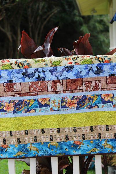 Hawaiian Baby Quilt - Hawaii Made