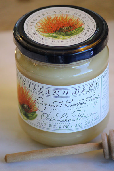 Organic Lehua Blossom Honey - Hawaii Made