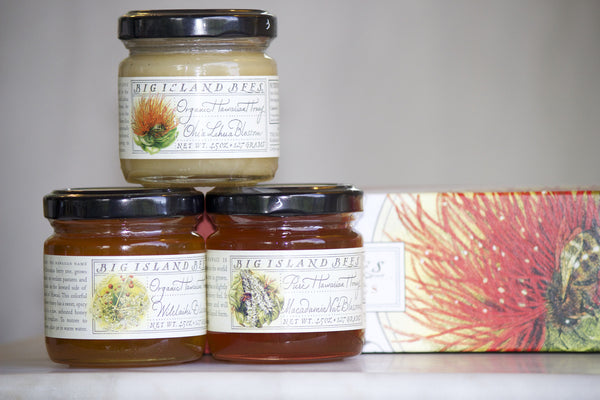Honey Gift Set 4.5 oz. - Hawaii Made