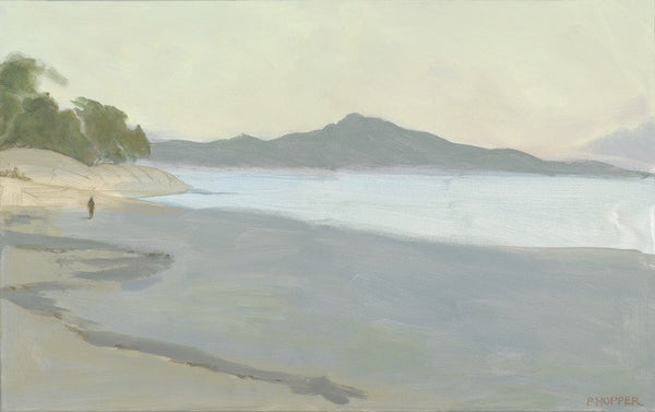 Kailua towards Mokapu, Pegge Hopper - early morning captured perfectly