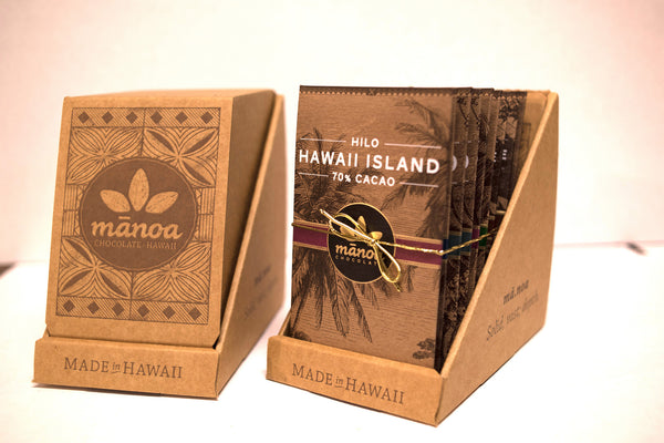 Hawaii Chocolate: 10 Bar Sampler - Hawaii Made