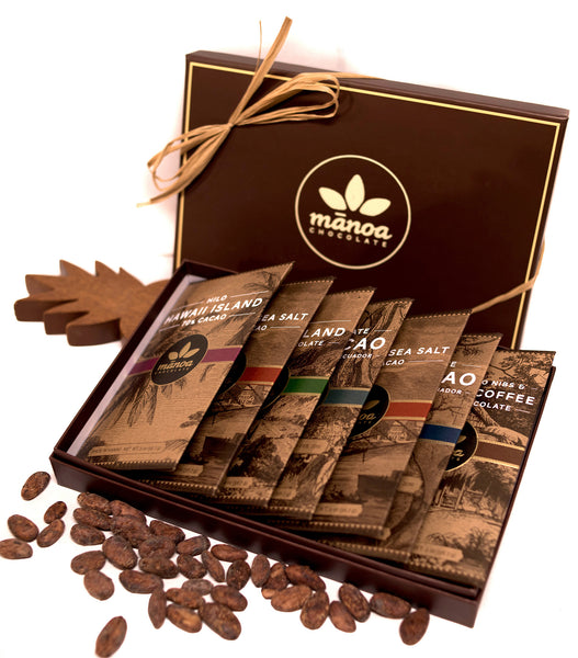 Hawaii Chocolate: 7 Bar Sampler - Hawaii Made