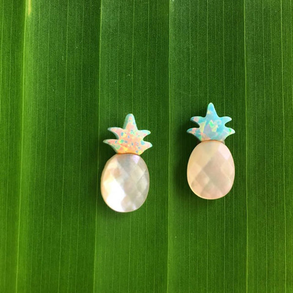 Pineapple Stud Earrings - Hawaii Made