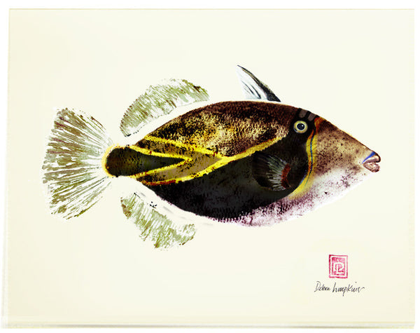 Kaʻanapali Fish Print Card Set - Hawaii Made
