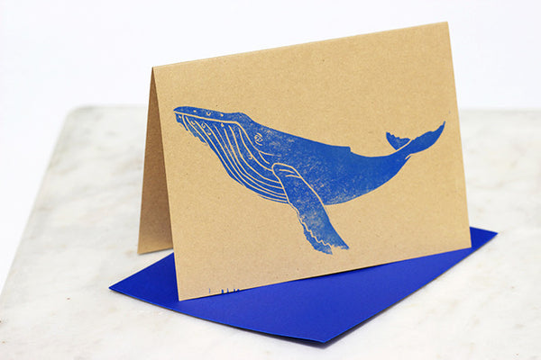 Whale Greeting Cards - Hawaii Made