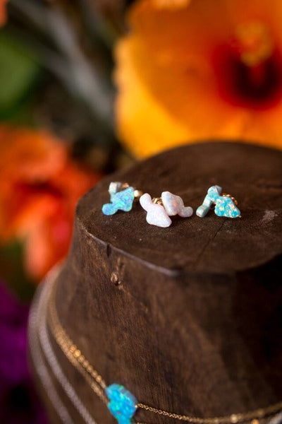 Maui Stud Earrings - Hawaii Made
