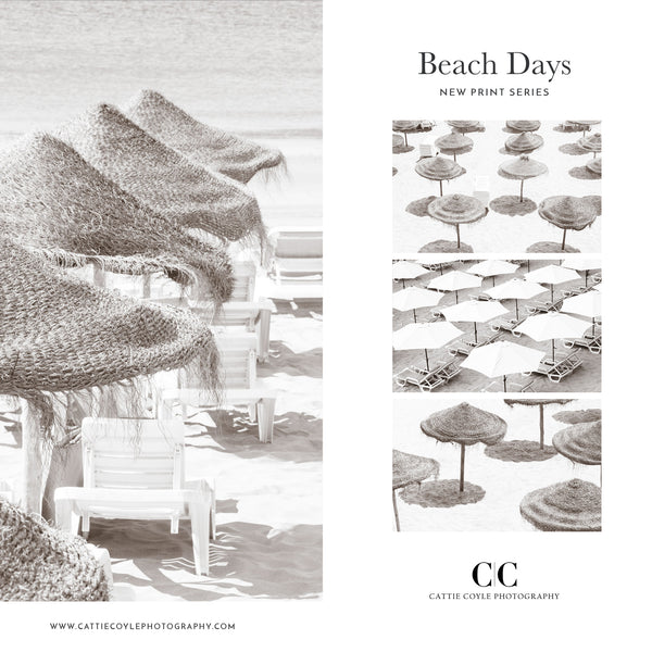 Beach Days - New fine art print series by Cattie Coyle Photography