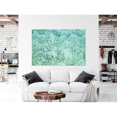 Abstract Water No 15 - Oversized acrylic glass print by Cattie Coyle Photography