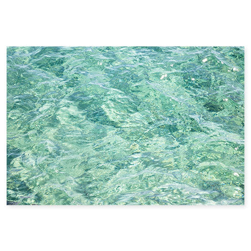 Abstract Water No 3 - Ocean art print by Cattie Coyle Photography