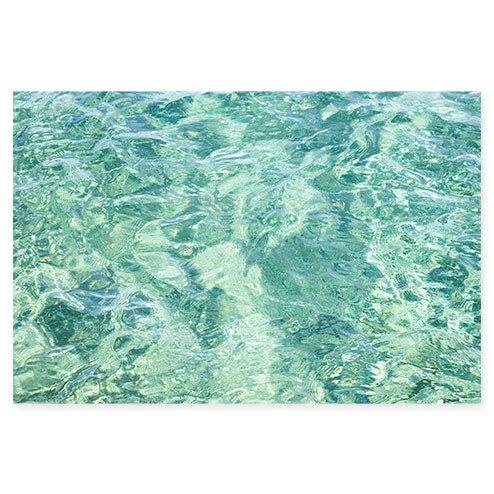 Abstract Water No 4 - Ocean art print by Cattie Coyle Photography
