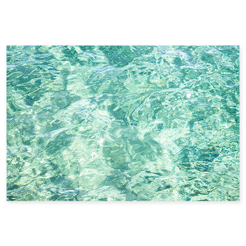 Abstract Water No 6 - Ocean art print by Cattie Coyle Photography
