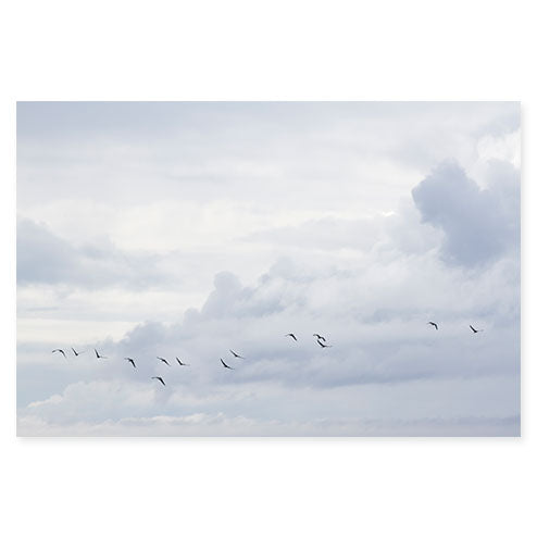 After the Storm - Large Skyscape Blue Art Print by Cattie Coyle Photography