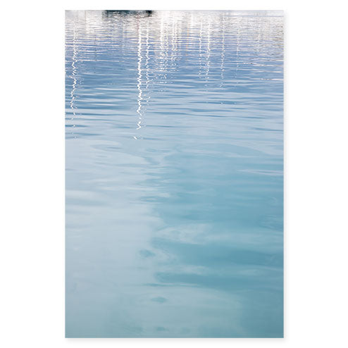 Antibes - Abstract water fine art art print by Cattie Coyle Photography