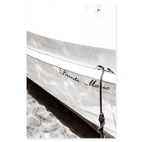 Boat No 5 - Nautical wall art by Cattie Coyle Photography