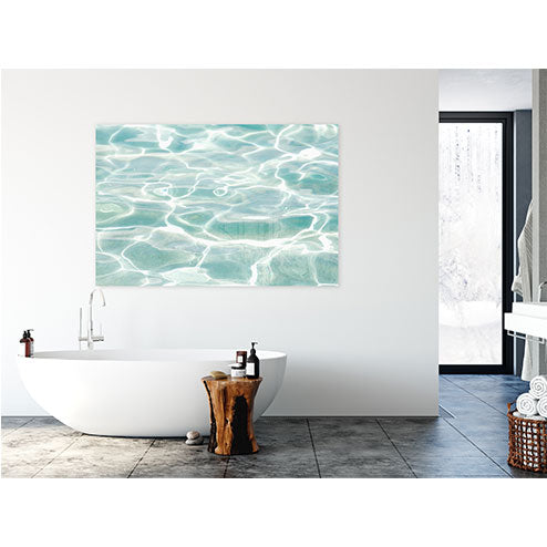 Caribbean Sea No 1 - Turquoise water acrylic glass print by Cattie Coyle Photography