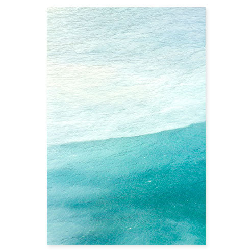 Magoito No 1 - Abstract teal color fine art photography by Cattie Coyle
