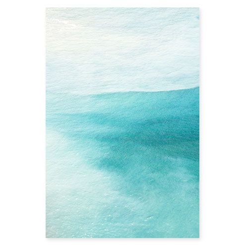 Magoito No 3 - Abstract teal color fine art print by Cattie Coyle Photography