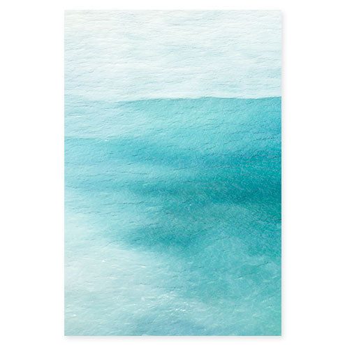 Magoito No 4 - Abstract teal color fine art by Cattie Coyle Photography